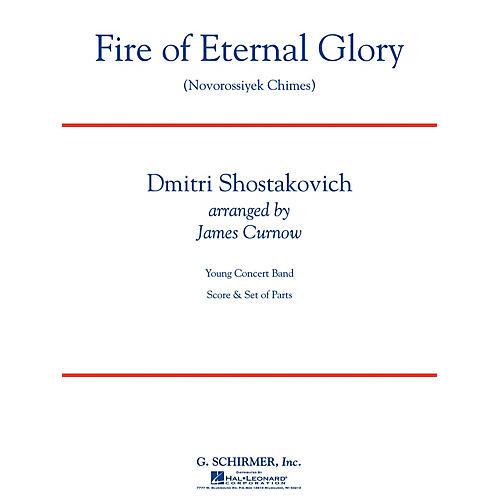 G. Schirmer Fire of Eternal Glory (Novorossiyek Chimes) Concert Band Level 3 by Shostakovich Arranged by James Curnow-thumbnail