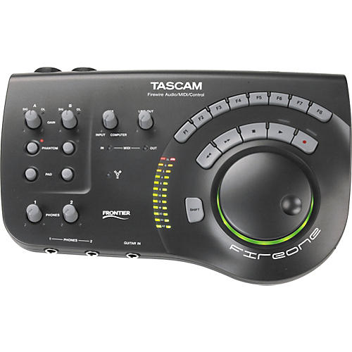 Tascam FireOne FireWire audio and control interface