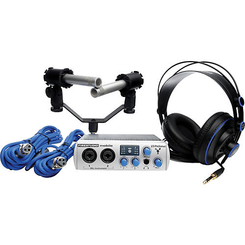 PreSonus FireStudio Mobile Recording Bundle
