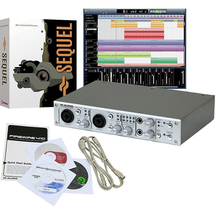 m audio firewire 410 with steinberg studio bundle musician 39 s friend. Black Bedroom Furniture Sets. Home Design Ideas