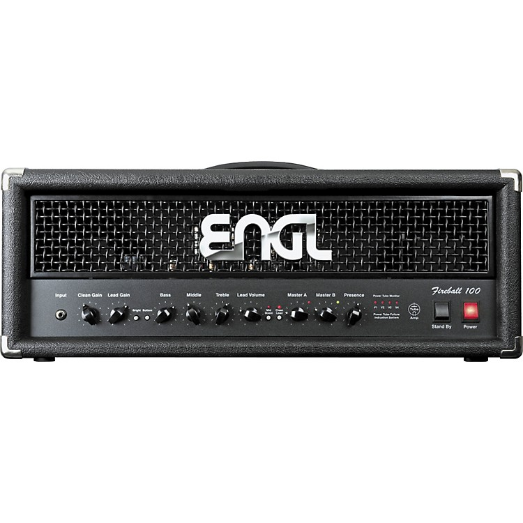 Engl Fireball 100 100W Tube Guitar Amp Head Black