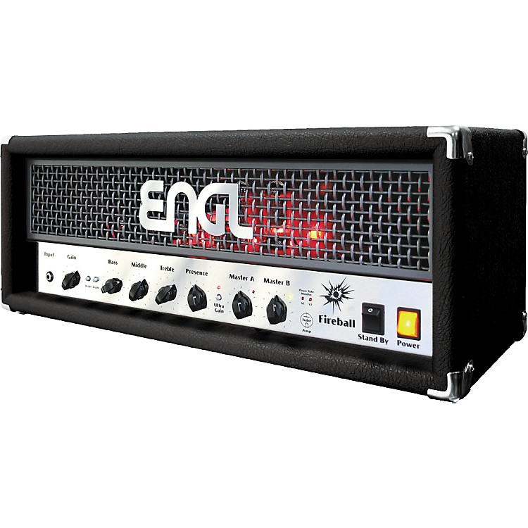 Engl Fireball 60 60W Tube Guitar Amp Head Black