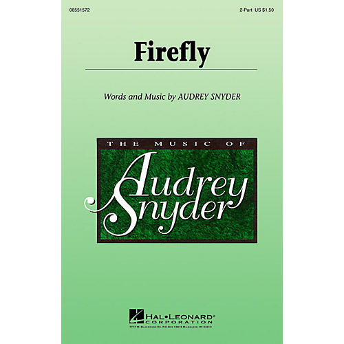 Hal Leonard Firefly 2-Part composed by Audrey Snyder-thumbnail