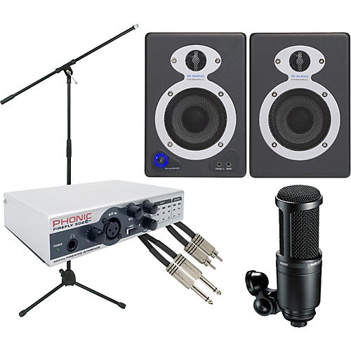 Phonic Firefly 302 Firewire Recording Package