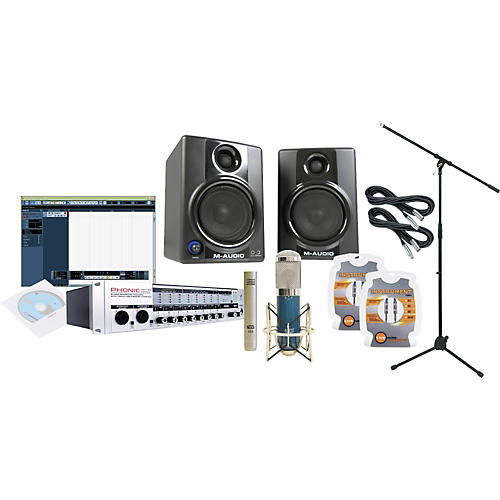 Phonic Firefly 808 Firewire Recording Package-thumbnail