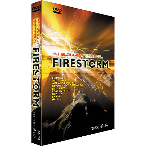 Zero G Firestorm Drum and Bass Sample Library