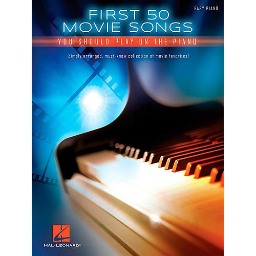 Hal Leonard First 50 Movie Songs You Should Play on the Piano-thumbnail