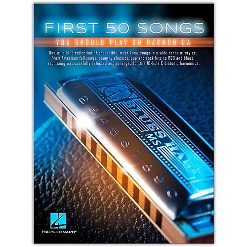 Hal Leonard First 50 Songs You Should Play on Harmonica-thumbnail