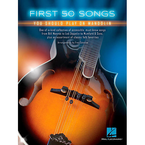 Hal Leonard First 50 Songs You Should Play on Mandolin-thumbnail