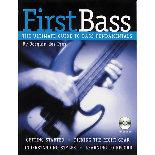 Backbeat Books First Bass - The Ultimate Guide to Bass Fundamentals (Book/CD)-thumbnail