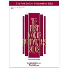 G. Schirmer First Book Of Baritone  /Bass Solos Book/2CD Package