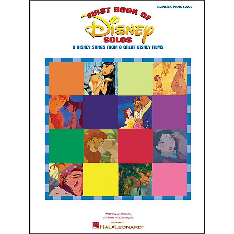 Hal Leonard First Book Of Disney Solos