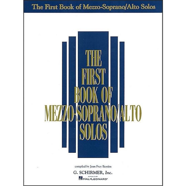 G. SchirmerFirst Book Of Mezzo-Soprano / Alto Solos