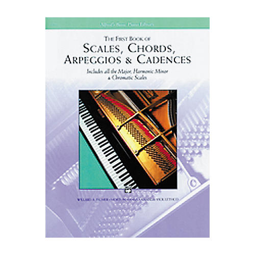 Alfred First Book Of Scales and Chords