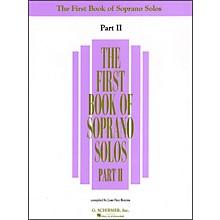 G. Schirmer First Book Of Soprano Solos Part 2