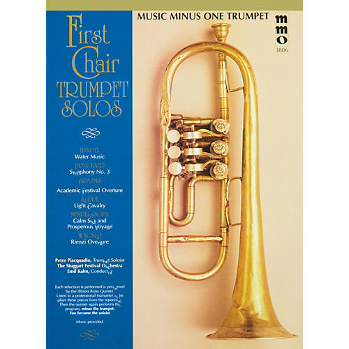 Hal Leonard First Chair Trumpet Solos