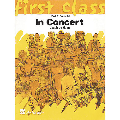 De Haske Music First Class - In Concert Concert Band Level 1.5 Composed by Jacob de Haan-thumbnail