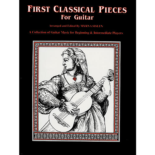 Alfred First Classical Pieces for Guitar Book
