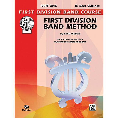 Alfred First Division Band Method Part 1 B-Flat Bass Clarinet