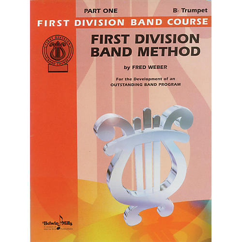 Alfred First Division Band Method Part 1 B-Flat Cornet (Trumpet)