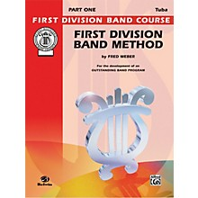 Alfred First Division Band Method Part 1 Bass (Tuba)