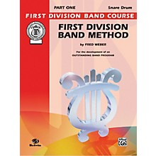 Alfred First Division Band Method Part 1 Drums