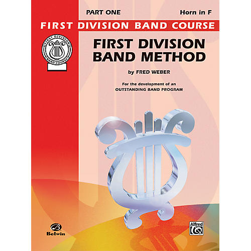Alfred First Division Band Method Part 1 Horn in F