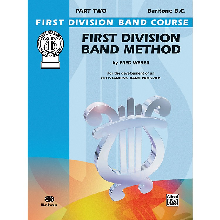AlfredFirst Division Band Method Part 2 Baritone (B.C.)