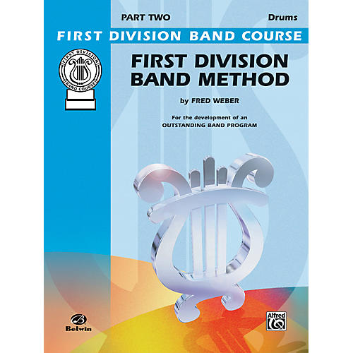 Alfred First Division Band Method Part 2 Drums