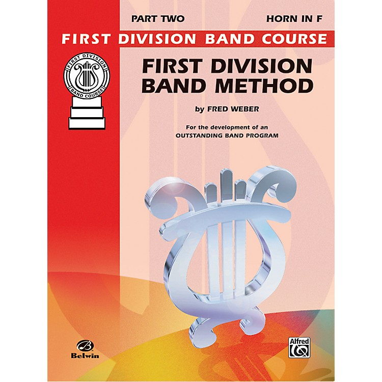 AlfredFirst Division Band Method Part 2 Horn in F