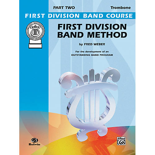 Alfred First Division Band Method Part 2 Trombone