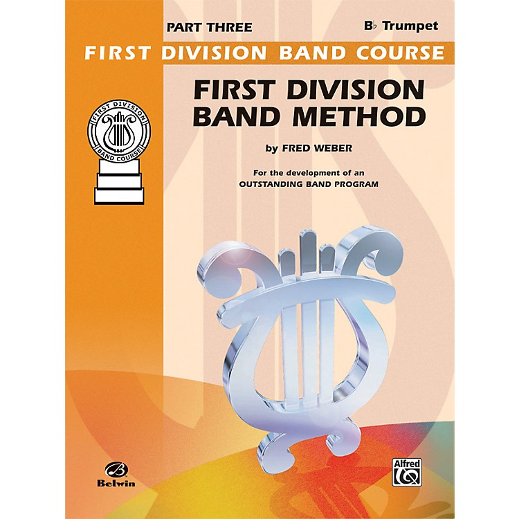 Alfred First Division Band Method Part 3 B-Flat Cornet (Trumpet)