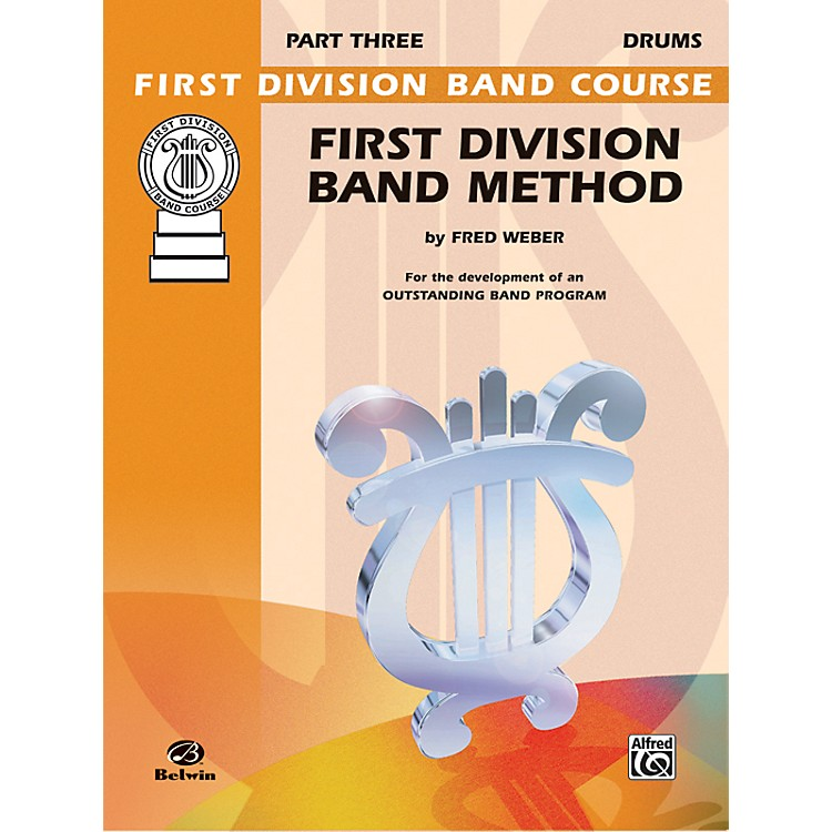 Alfred First Division Band Method Part 3 Drums