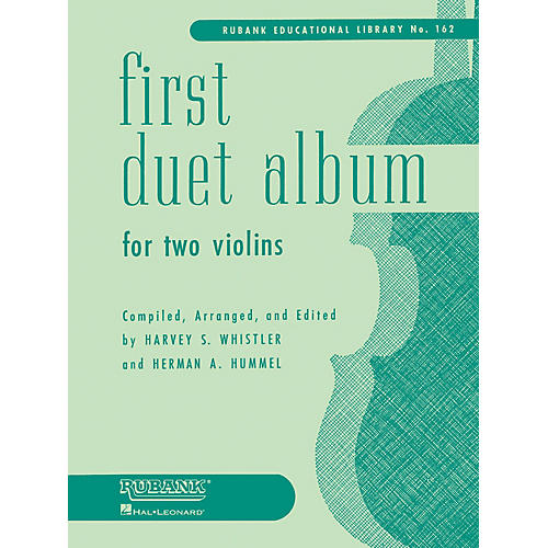 Rubank Publications First Duet Album for Two Violins (in Elementary First Position) Ensemble Collection Series-thumbnail