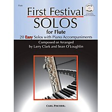 Carl Fischer First Festival Solos for Flute (20 Easy Solos with Piano Accompaniments)