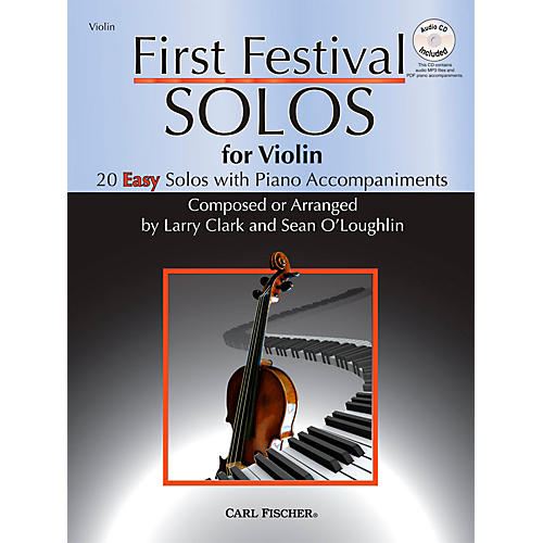 Carl Fischer First Festival Solos for Violin (20 Easy Solos with Piano Accompaniments)-thumbnail
