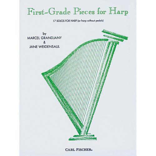 Carl Fischer First-Grade Pieces For Harp
