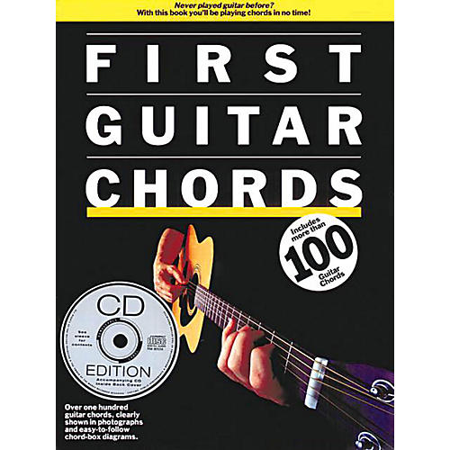 Music Sales First Guitar Chords Music Sales America Series Softcover with CD Written by Arthur Dick-thumbnail