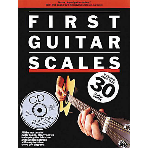 Music Sales First Guitar Scales Music Sales America Series Softcover with CD Written by Various Authors-thumbnail