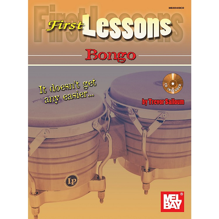 Mel Bay First Lessons Bongo Book & CD