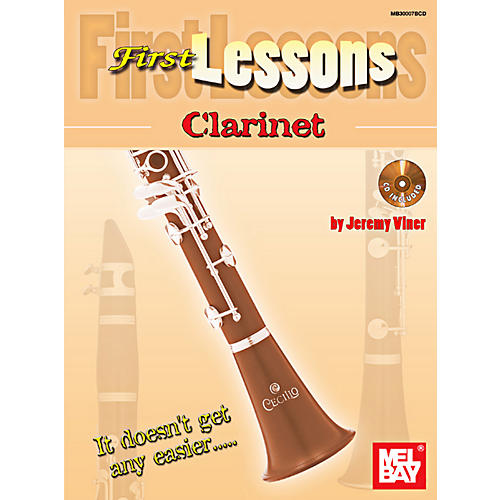 Mel Bay First Lessons Clarinet