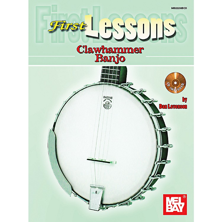 Mel Bay First Lessons Clawhammer Banjo