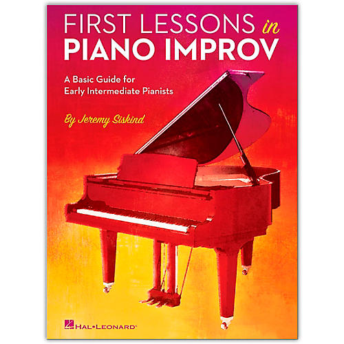 Hal Leonard First Lessons In Piano Improv (Book)-thumbnail