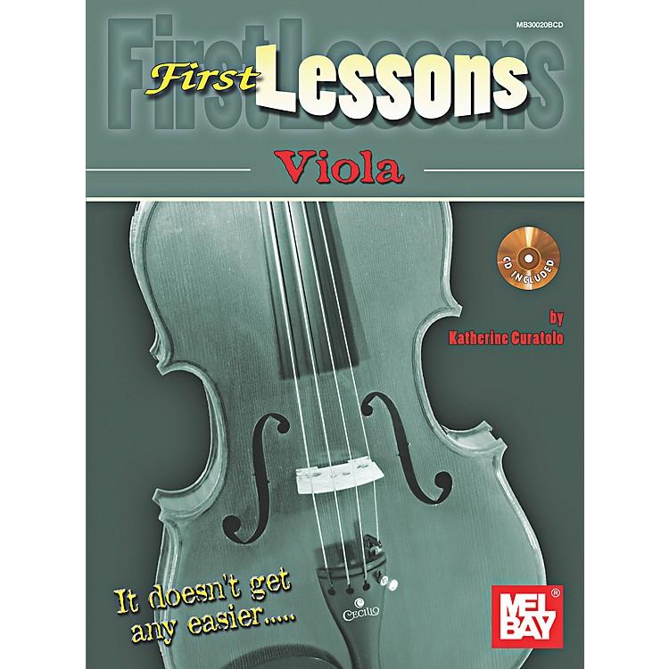 Mel BayFirst Lessons Viola
