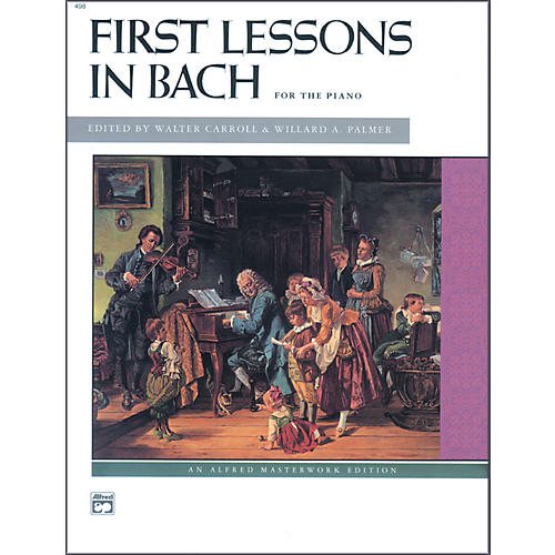 Alfred First Lessons in Bach Piano