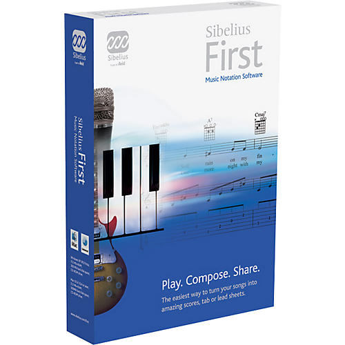 Sibelius First Music Notation Software