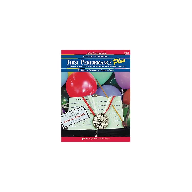 KJOSFirst Performance Plus 1st/2nd Eflat Alto Sax Book