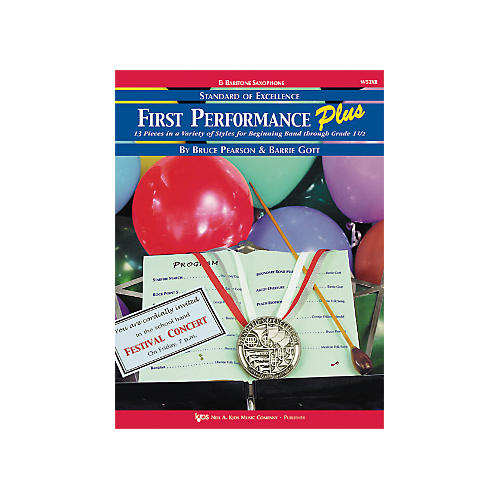 KJOS First Performance Plus Eflat Baritone Saxophone Book