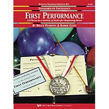 KJOS First Performance Trombone/Baritone Bc/Bassoon