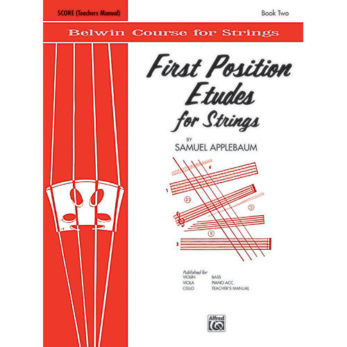 BELWIN First Position Etudes for Strings Score-thumbnail
